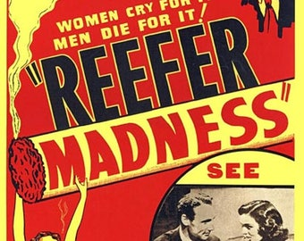 Refer Madness - 1933 - Movie Poster - Archival Quality Print