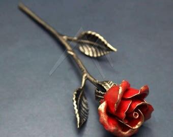 Iron Rose - Steel Rose, Metal Rose