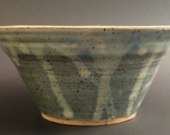 Blue Drippy Bowl