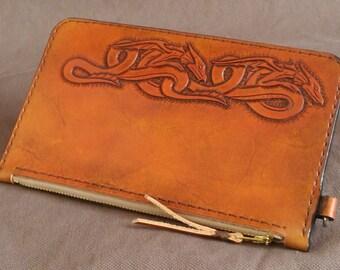 Handmade Leather Bank Bag