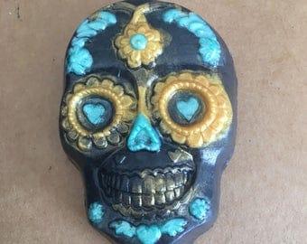 Sugar skull soap