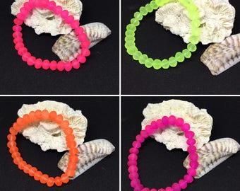 Neon Stretch Elastic Bracelets