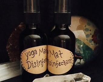 Yoga Mat Santizing Spray - Air Refresher - Surface Sanitizer