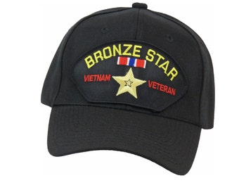BRONZE STAR, VIETNAM Cap