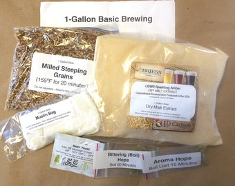 Red Ale - One Gallon Partial Mash Beer Kit by FermentStuff