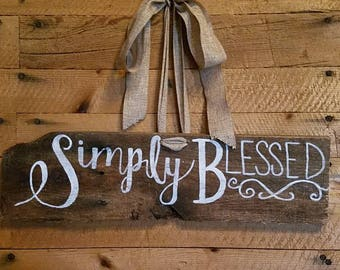 Simply Blessed Etsy