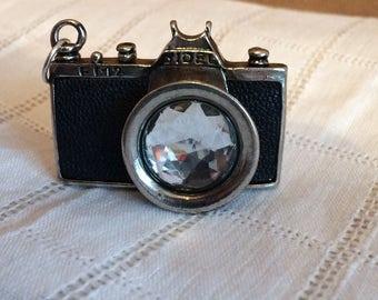 Mini Retro Camera Necklace Charm/Pendant