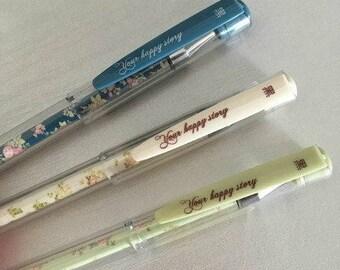 floral pen, floral pattern pen