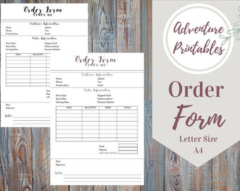 Certified Mail Receipt Cost Pdf Etsy Order Form  Etsy Template For Sales Receipt Excel with Receipt Of Letter Pdf Order Form Printable Pdf Business Orders Etsy Orders Customer Contact  Craft Order Adp Online Invoice Excel