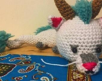Haku Dragon Crochet Plushie