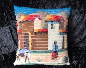 Alpaca Pillow Peru Etsy