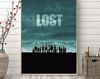 LOST Tv series wallpaper decoration photo poster