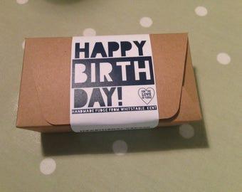 100g Luxury Traditional Cream Fudge Gift Box