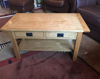 Coffee Table in the Craftsman Style