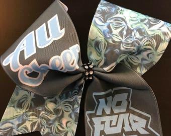 ALL Cheer NO Fear Cheer Bow