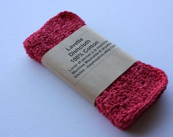 Set of 2 Crochet dishcloths, Washcloths, dishcloths