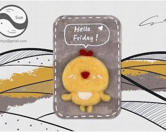 Needle Felting Kits,chick,Cute Kit,Handmade,Accessories