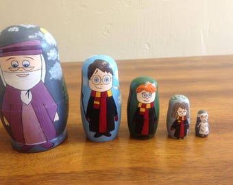 Custom- Harry Potter Nesting Dolls