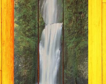 Multnomah Falls, OR - Custom Pallet Picture