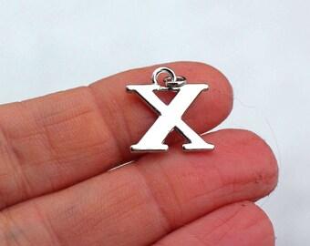One Letter X, Alphabet Charm, X, Letter X