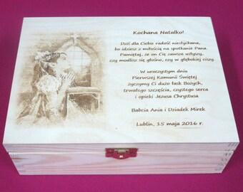 1st Communion Gift Personalized FirstCcommunion First Holy Communion Holy Communion Gift