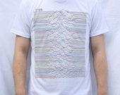 Unknown Pleasures CP 1919 Design T Shirt Joy Division