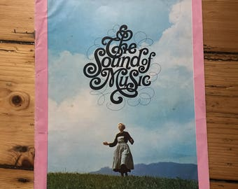 The Sound Of Music - Movie Programme - Cover Missing (Julie Andrews)