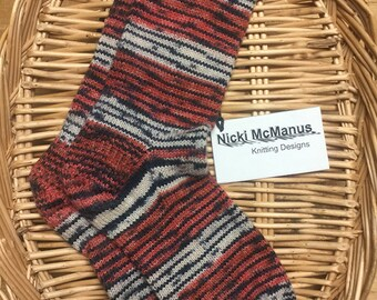 Ladies Hand Knit Socks
