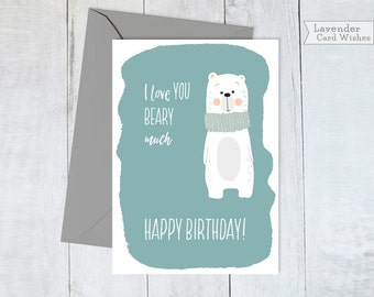 Happy Birthday Cards Best Friend Cards Boyfriend Bday Card Printable Cards  Funny Gift Funny Love You  Printable Best Friend Birthday Cards