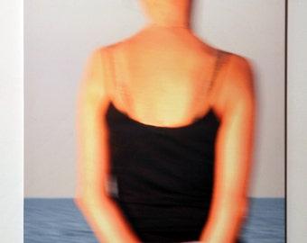 Girl on the beach, photo on canvas, 80 x 120cm