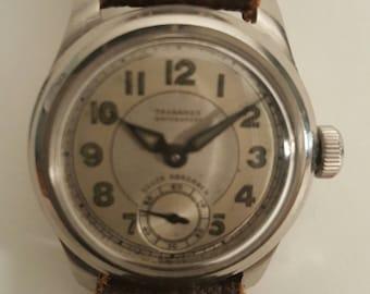 SALE Priced Vintage TAVANNES (CYMA) WW2 era watch (Rare)----------Serviced------