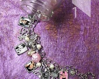 Audrey Hepburn   charm  Bracelet necklace