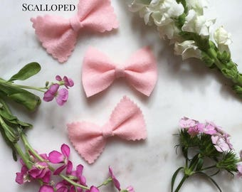 Scalloped Brave Bow