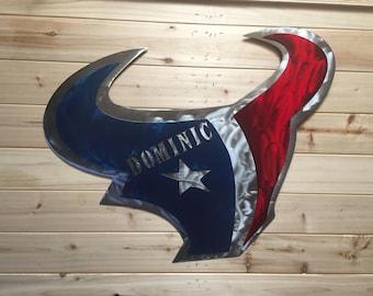 Customizable Texan sign