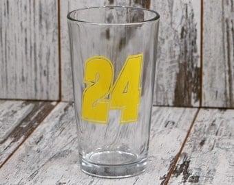 Pint Glass,Nascar Decor, Pick Your Favorite Driver,Nascar,Dale Earnhardt Jr, Race Fan,Beer Glass ,Home Bar, Car Racing, Nascar Racing