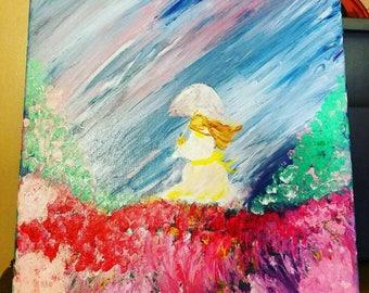 Spring me rain painting