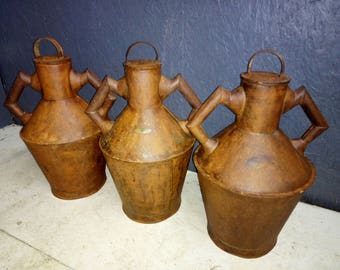 Vintage Olive Oil Churns
