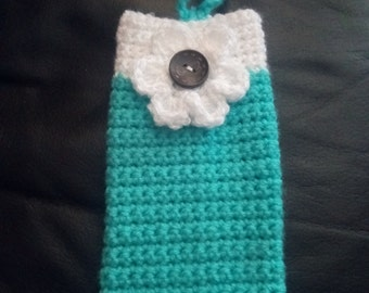Crocheted Mobile phone case