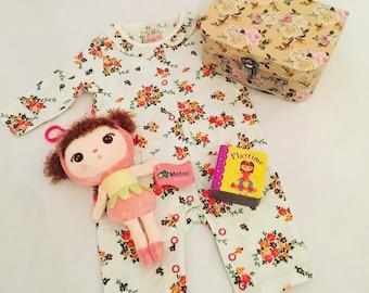 Baby Pink Metoo Doll Suitcase Hamper