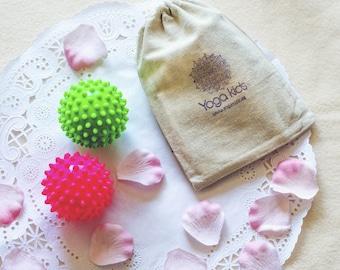 Infant massage ball