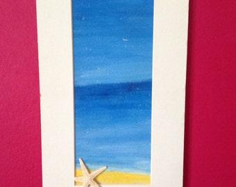 Acrylic seascape. Original artwork.