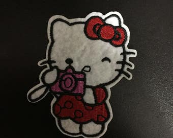 Hello Kitty, Hello Kitty Iron on Patches, 5.5x7.7cm size