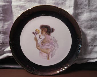 Victorian Indian Pittsburgh Commandery no 1 29th triennaal San Francisco CA Plate 1904 porcelain plate