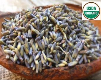 ORGANIC LAVENDER FLOWERS, Lavender Tea, Organic Herbs