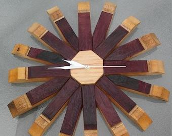Decorative Stave Clock