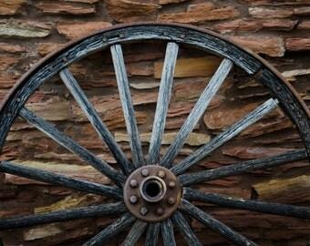 Wagon Wheel Western Art, Southwestern Photography