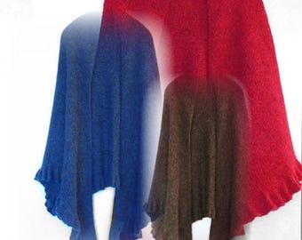 PDF Knitting Pattern Beach Nights of Summer Knit Shawl Pattern