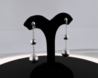 Fashion Jewelry 925 Sterling Silver Balls Earrings