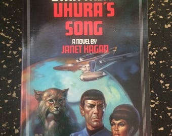 Star Trek: Uhura's Song Novel by Janet Kagan