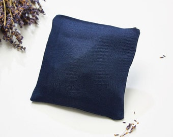 Lavender pillow blue